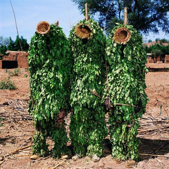 Yaie Masquerade, Bansie Village, Burkina Faso by Phyllis Galembo, 2006